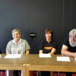 Die Jury: Frau Götz-Walk, Frau Vollmöller, Frau Becker und Herr Bick